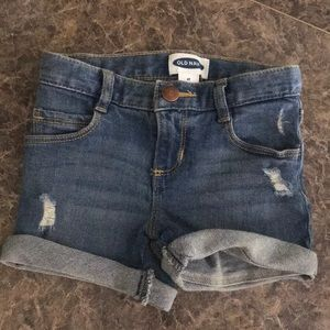 NWOT Toddler Girl Old Navy Denim Shorts